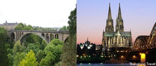 Tour Pháp – Đức – Hà Lan – Bỉ – Pháp