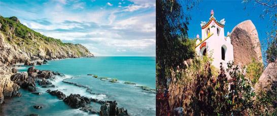 Sài Gòn – Biển Ninh Chữ – Vịnh Vĩnh Hy – Cổ Thạch Tự